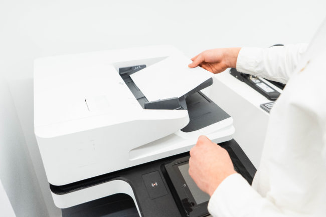 キレイモの親権者同意書を印刷する方法